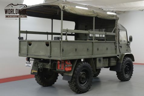 1962 Mercedes Benz UNIMOG 404 SWISS TROOP CARRIER  4X4 BEAST RESTORED | Denver, CO | Worldwide Vintage Autos in Denver, CO