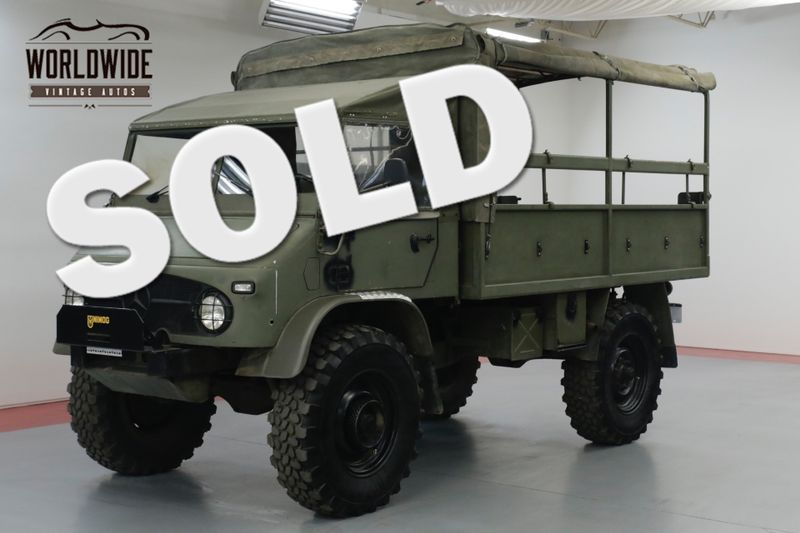 1962 Mercedes Benz UNIMOG 404 SWISS TROOP CARRIER  4X4 BEAST RESTORED | Denver, CO | Worldwide Vintage Autos