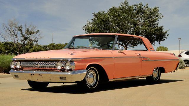 "1962 Mercury MONTEREY 2 DR SPORT COUPE UNRESTORED ""TEABERRY"" Phoenix, Arizona 10"
