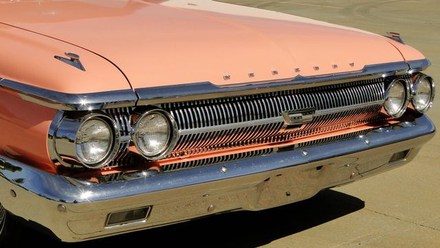 "1962 Mercury MONTEREY 2 DR SPORT COUPE UNRESTORED ""TEABERRY"" Phoenix, Arizona 4"