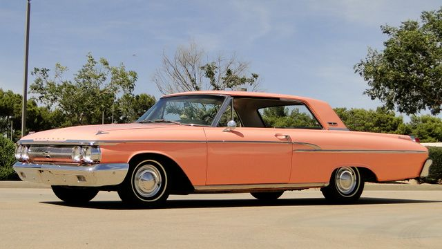 "1962 Mercury MONTEREY 2 DR SPORT COUPE UNRESTORED ""TEABERRY"" Phoenix, Arizona 17"