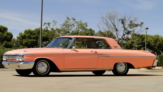 "1962 Mercury MONTEREY 2 DR SPORT COUPE UNRESTORED ""TEABERRY"" Phoenix, Arizona"