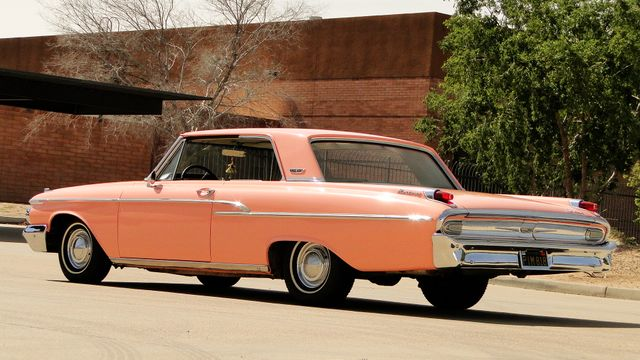 "1962 Mercury MONTEREY 2 DR SPORT COUPE UNRESTORED ""TEABERRY"" Phoenix, Arizona 8"