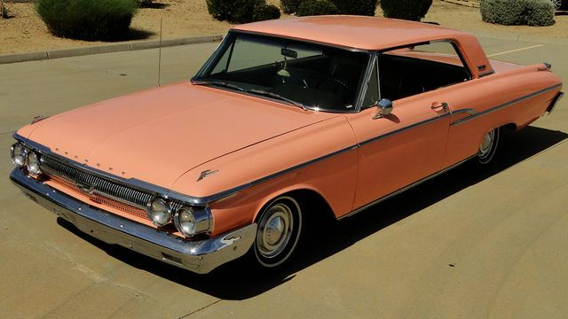 "1962 Mercury MONTEREY 2 DR SPORT COUPE UNRESTORED ""TEABERRY"" Phoenix, Arizona 14"