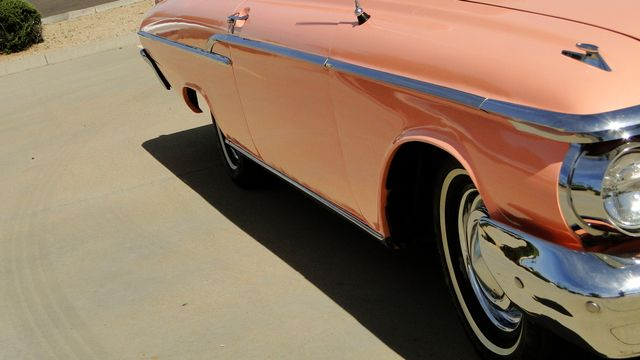 "1962 Mercury MONTEREY 2 DR SPORT COUPE UNRESTORED ""TEABERRY"" Phoenix, Arizona 23"