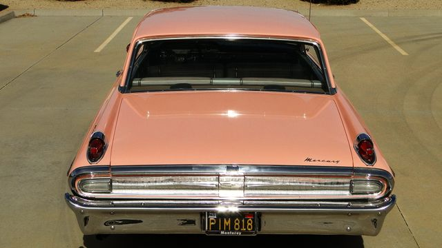 "1962 Mercury MONTEREY 2 DR SPORT COUPE UNRESTORED ""TEABERRY"" Phoenix, Arizona 7"