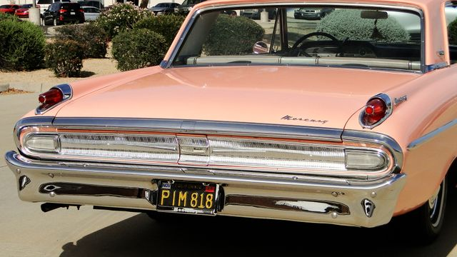 "1962 Mercury MONTEREY 2 DR SPORT COUPE UNRESTORED ""TEABERRY"" Phoenix, Arizona 21"