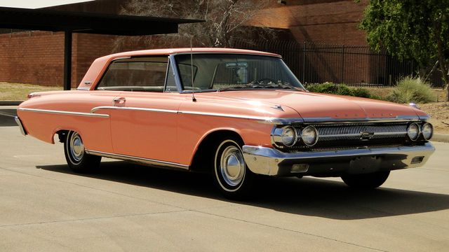 "1962 Mercury MONTEREY 2 DR SPORT COUPE UNRESTORED ""TEABERRY"" Phoenix, Arizona 9"