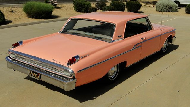 "1962 Mercury MONTEREY 2 DR SPORT COUPE UNRESTORED ""TEABERRY"" Phoenix, Arizona 11"