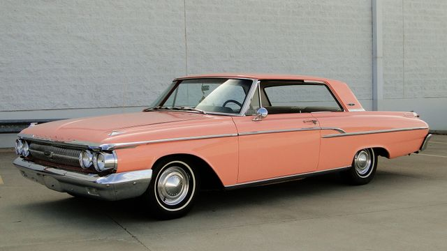 "1962 Mercury MONTEREY 2 DR SPORT COUPE UNRESTORED ""TEABERRY"" Phoenix, Arizona 33"