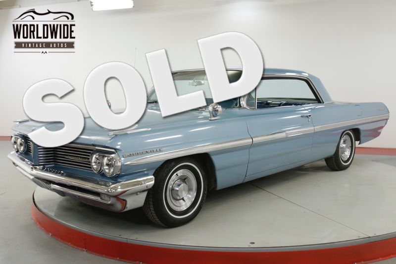 1962 Pontiac BONNEVILLE TRI-POWER V8! RARE COLLECTOR COUPE AUTO PS | Denver, CO | Worldwide Vintage Autos