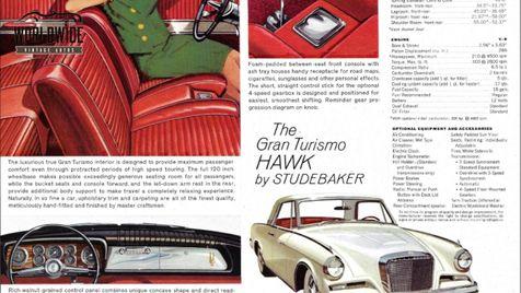 1962 Studebaker GRAN TURISMO GT HAWK V8! CO CAR 4 SPEED w/OD COLLECTOR | Denver, CO | Worldwide Vintage Autos in Denver, CO