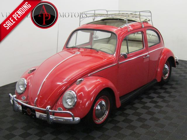 "1962 Volkswagen BEETLE ""AC"" SUNROOF"