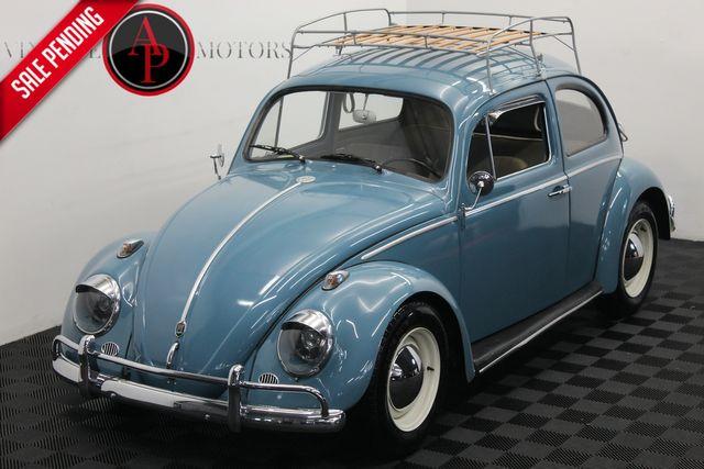 1962 Volkswagen Beetle REBUILT MOTOR ROOF RACK