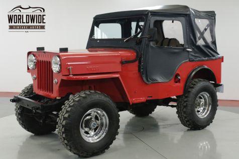 1962 Willys CJ3B