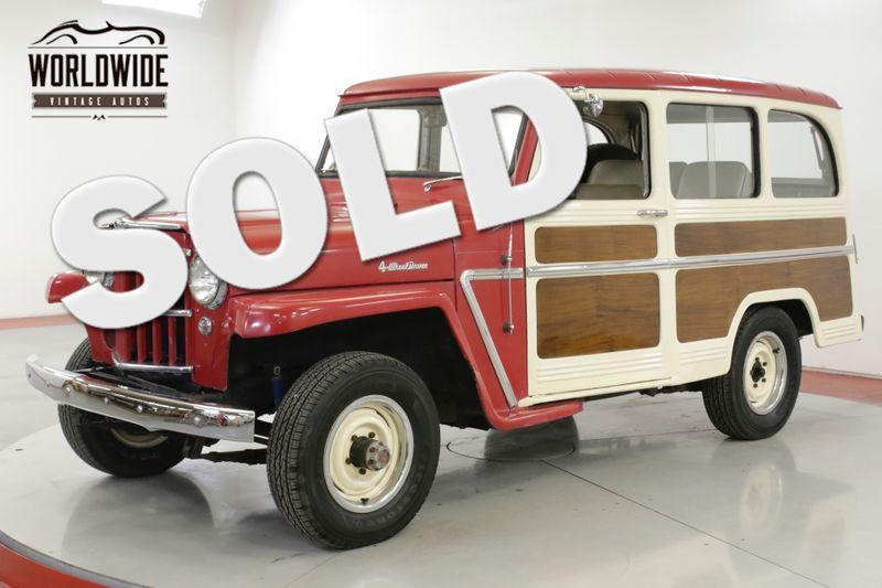 1962 Willys WAGON  GREAT DRIVER HURRICANE MOTOR 4X4 | Denver, CO | Worldwide Vintage Autos