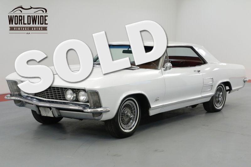 1963 Buick RIVIERA 425 NAILHEAD MOTOR. AUTOMATIC PS PB A/C!  | Denver, CO | Worldwide Vintage Autos