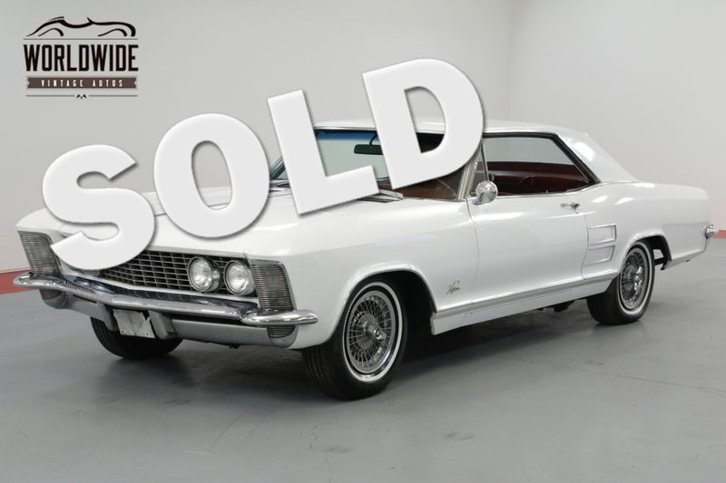 1963 Buick RIVIERA 425 NAILHEAD MOTOR. AUTOMATIC PS PB A/C!  | Denver, CO | Worldwide Vintage Autos