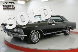 1963 Buick RIVIERA  401 AUTOMATIC LOW MILES | Denver, CO | Worldwide Vintage Autos in Denver CO