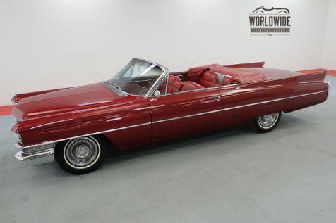 1963 Cadillac CONVERTIBLE RESTORED RARE V8 CONVERTIBLE RED/WHITE | Denver, CO | Worldwide Vintage Autos in Denver, CO