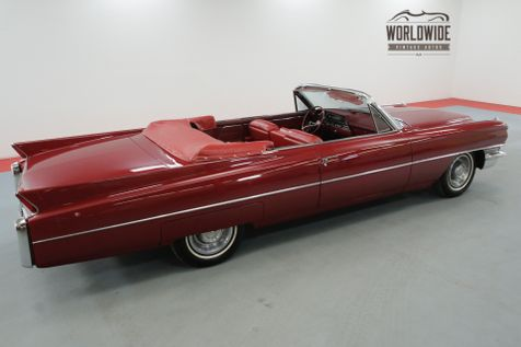 1963 Cadillac CONVERTIBLE RESTORED RARE V8 CONVERTIBLE RED/WHITE | Denver, CO | Worldwide Vintage Autos in Denver, CO