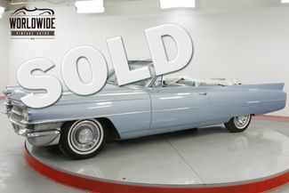 1963 Cadillac DEVILLE CONVERTIBLE AC PS PB PW V8 TONS OF CHROME   Denver, CO   Worldwide Vintage Autos in Denver CO