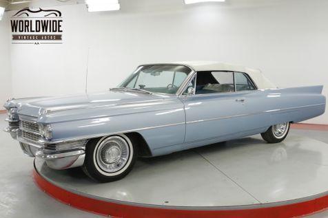 1963 Cadillac DEVILLE CONVERTIBLE AC PS PB PW V8 TONS OF CHROME   Denver, CO   Worldwide Vintage Autos in Denver, CO