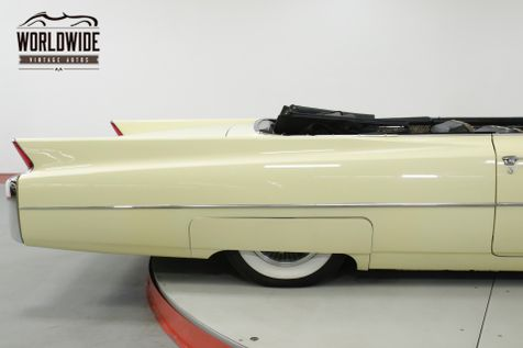 1963 Cadillac SERIES 62 CONVERTIBLE $100K+ RESTORE SHAQUILLE O'NEIL | Denver, CO | Worldwide Vintage Autos in Denver, CO