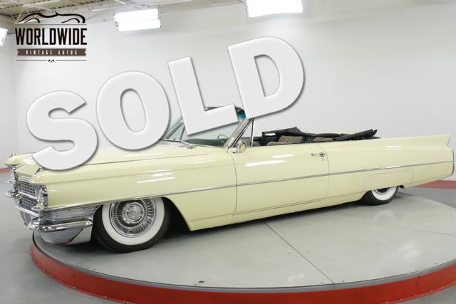 1963 Cadillac SERIES 62 CONVERTIBLE $100K+ RESTORE SHAQUILLE O'NEIL | Denver, CO | Worldwide Vintage Autos in Denver CO