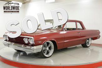 1963 Chevrolet BISCAYNE POWERFUL 350, POWER STEERING, NEWER PAINT | Denver, CO | Worldwide Vintage Autos in Denver CO