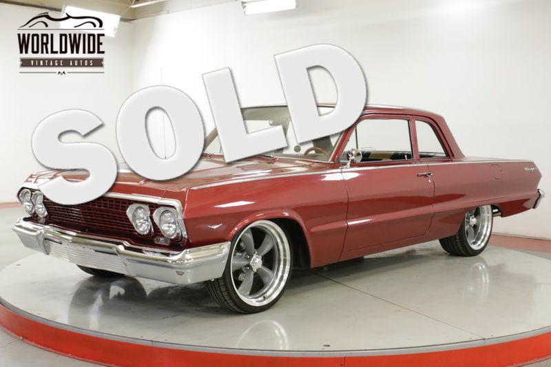 1963 Chevrolet BISCAYNE POWERFUL 350, POWER STEERING, NEWER PAINT | Denver, CO | Worldwide Vintage Autos