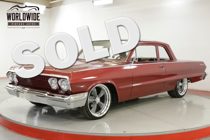 1963 Chevrolet BISCAYNE POWERFUL 350, POWER STEERING, NEWER PAINT | Denver, CO | Worldwide Vintage Autos