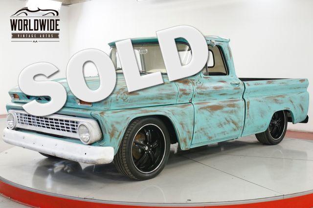 1963 Chevrolet C10 FUEL INJECTED LS! RESTOMOD PATINA AIR RIDE | Denver, CO | Worldwide Vintage Autos in Denver CO