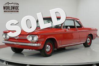 1963 Chevrolet CORVAIR EXTENSIVE RESTORATION. FIRE ENGINE RED. CHROME!   Denver, CO   Worldwide Vintage Autos in Denver CO