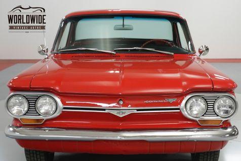 1963 Chevrolet CORVAIR EXTENSIVE RESTORATION. FIRE ENGINE RED. CHROME! | Denver, CO | Worldwide Vintage Autos in Denver, CO