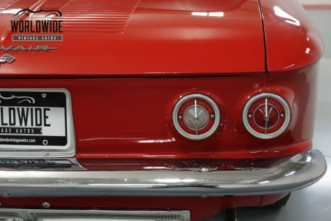 1963 Chevrolet CORVAIR EXTENSIVE RESTORATION. FIRE ENGINE RED. CHROME! | Denver, CO | Worldwide Vintage Autos in Denver, CO