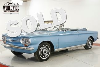 1963 Chevrolet CORVAIR   CONVERTIBLE AC AUTO  | Denver, CO | Worldwide Vintage Autos in Denver CO