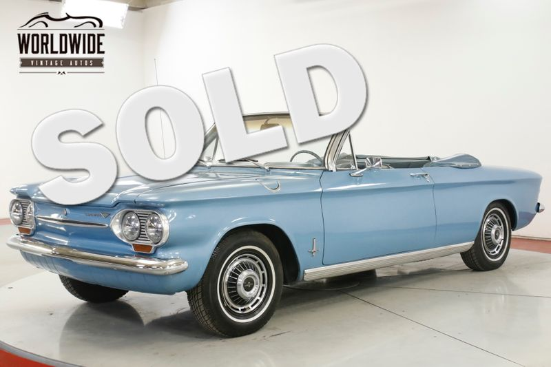 1963 Chevrolet CORVAIR   CONVERTIBLE AC AUTO  | Denver, CO | Worldwide Vintage Autos