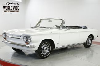 1963 Chevrolet CORVAIR CONVERTIBLE READY FOR SUMMER EXTREMELY CLEAN | Denver, CO | Worldwide Vintage Autos in Denver CO