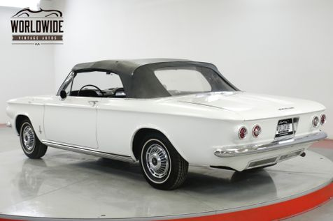1963 Chevrolet CORVAIR CONVERTIBLE READY FOR SUMMER EXTREMELY CLEAN | Denver, CO | Worldwide Vintage Autos in Denver, CO