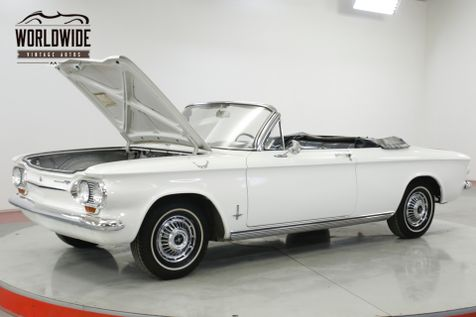 1963 Chevrolet CORVAIR CONVERTIBLE READY FOR SUMMER EXTREMELY CLEAN   Denver, CO   Worldwide Vintage Autos in Denver, CO