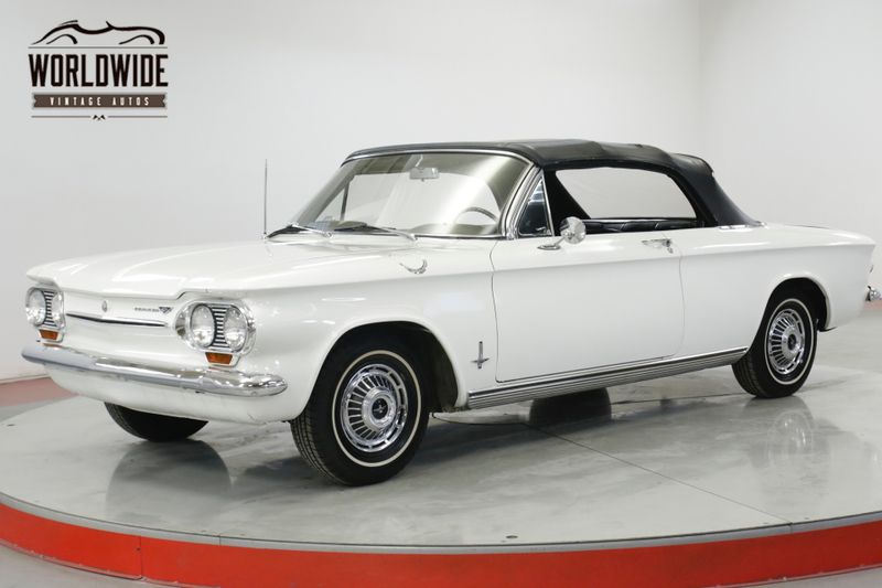 1963 Chevrolet CORVAIR CONVERTIBLE READY FOR SUMMER EXTREMELY CLEAN | Denver, CO | Worldwide Vintage Autos