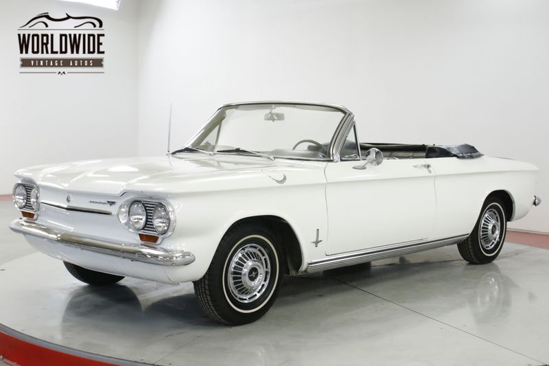1963 Chevrolet CORVAIR CONVERTIBLE READY FOR SUMMER EXTREMELY CLEAN   Denver, CO   Worldwide Vintage Autos