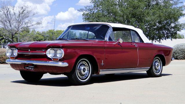 "1963 Chevrolet CORVAIR MONZA 500  CONVERTIBLE ""REALITY TV SHOW CAR!! Phoenix, Arizona 5"