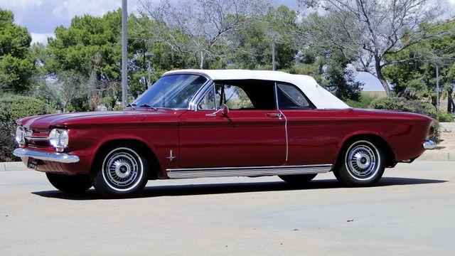 "1963 Chevrolet CORVAIR MONZA 500  CONVERTIBLE ""REALITY TV SHOW CAR!! Phoenix, Arizona 7"