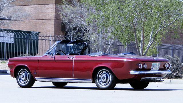 "1963 Chevrolet CORVAIR MONZA 500  CONVERTIBLE ""REALITY TV SHOW CAR!! Phoenix, Arizona 18"