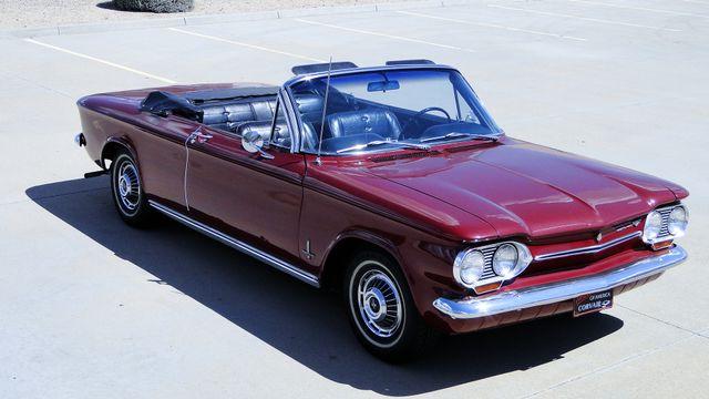 "1963 Chevrolet CORVAIR MONZA 500  CONVERTIBLE ""REALITY TV SHOW CAR!! Phoenix, Arizona 11"