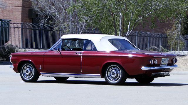 "1963 Chevrolet CORVAIR MONZA 500  CONVERTIBLE ""REALITY TV SHOW CAR!! Phoenix, Arizona 2"