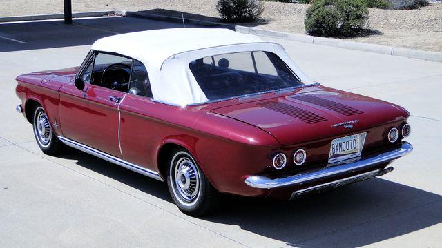 "1963 Chevrolet CORVAIR MONZA 500  CONVERTIBLE ""REALITY TV SHOW CAR!! Phoenix, Arizona 10"
