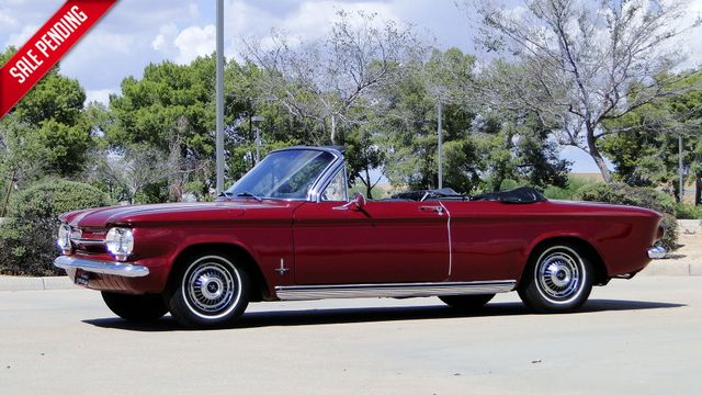 "1963 Chevrolet CORVAIR MONZA 500  CONVERTIBLE ""REALITY TV SHOW CAR!! Phoenix, Arizona"